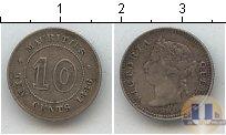 Каталог монет - монета  Маврикий 10 центов