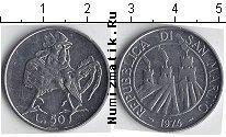 Каталог монет - монета  Сан-Марино 50 лир
