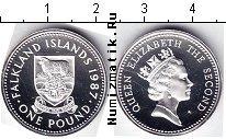 Каталог монет - монета  Фолклендские острова 1 фунт