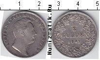 Каталог монет - монета  Баден 1/2 гульдена