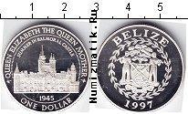 Продать Монеты Белиз 1 доллар 1997 Серебро
