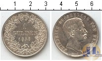 Каталог монет - монета  Баден 1 гульден