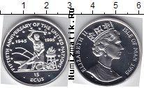 Каталог монет - монета  Остров Мэн 15 экю