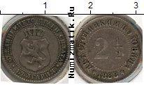 Каталог монет - монета  Болгария 2 1/2 стотинки