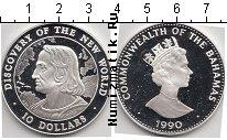 Каталог монет - монета  Багамские острова 10 долларов