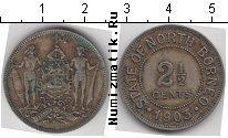 Каталог монет - монета  Борнео 2 1/2 цента