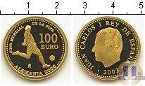 Каталог монет - монета  Испания 100 евро