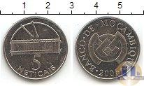 Каталог монет - монета  Мозамбик 5 метикаль