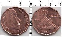Каталог монет - монета  Остров Пасхи 100 песо