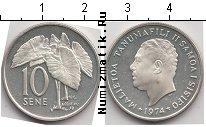 Каталог монет - монета  Самоа 10 сене