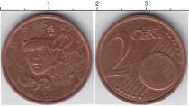 Каталог монет - монета  Франция 2 евроцента