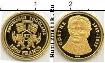 Продать Монеты Того 1500 франков 2005 Золото