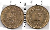 Каталог монет - монета  Бурунди 1 франк