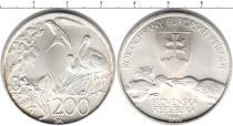 Каталог монет - монета  Словакия 200 крон