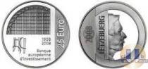 Каталог монет - монета  Люксембург 25 евро