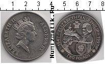 Каталог монет - монета  Олдерни 2 фунта