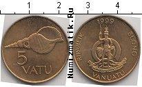 Каталог монет - монета  Вануату 5 вату