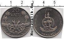 Каталог монет - монета  Вануату 20 вату