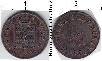 Каталог монет - монета  Саксен-Майнинген 1/2 крейцера