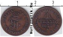 Каталог монет - монета  Мекленбург-Шверин 1 пфенниг