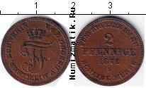 Каталог монет - монета  Мекленбург-Шверин 2 пфеннига