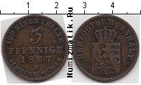 Каталог монет - монета  Анхальт 3 пфеннига