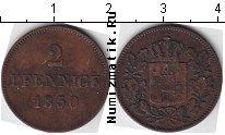 Каталог монет - монета  Баден 2 пфеннига
