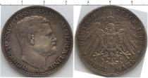 Каталог монет - монета  Рейсс-Оберграйц 3 марки