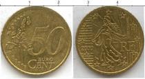 Каталог монет - монета  Франция 50 евроцентов
