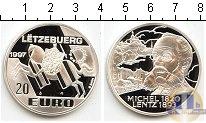 Каталог монет - монета  Люксембург 20 евро
