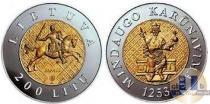 Каталог монет - монета  Литва 200 лит