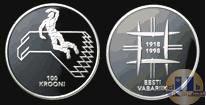 Каталог монет - монета  Эстония 100 крон