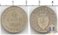 Продать Монеты Гессен-Дармштадт 6 крейцеров 1834 Серебро