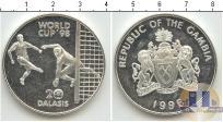 Продать Монеты Гамбия 2 даласи 1996