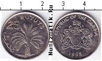 Каталог монет - монета  Гамбия 25 бутут