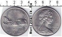 Каталог монет - монета  Гамбия 8 шиллингов