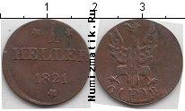 Каталог монет - монета  Франкфурт 1 хеллер