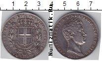 Каталог монет - монета  Сардиния 5 лир