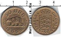 Каталог монет - монета  Гренландия 50 эре