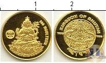 Продать Монеты Бутан 300 нгултрум 1996 Золото