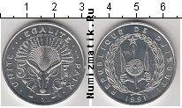 Каталог монет - монета  Джибути 5 франков