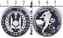 Каталог монет - монета  Джибути 100 франков