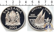 Каталог монет - монета  Танзания 500 шиллингов