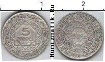 Каталог монет - монета  Марокко 5 франков