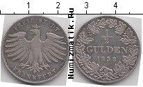 Каталог монет - монета  Франкфурт 1/2 гульдена