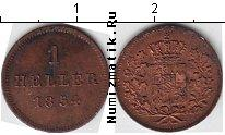 Каталог монет - монета  Бавария 1 хеллер