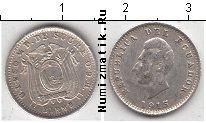 Каталог монет - монета  Эквадор 1/2 сукре