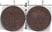 Каталог монет - монета  Шаумбург-Липпе 1 пфенниг