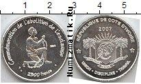 Каталог монет - монета  Кот-д`Ивуар 2500 франков