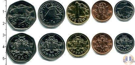 Каталог - подарочный набор  Барбадос Барбадос 1999-2000